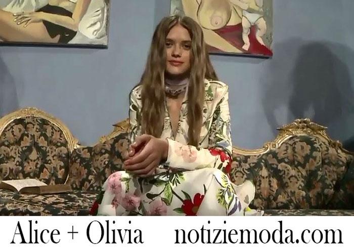 Sfilata Alice Olivia Primavera Estate 2018 Donna