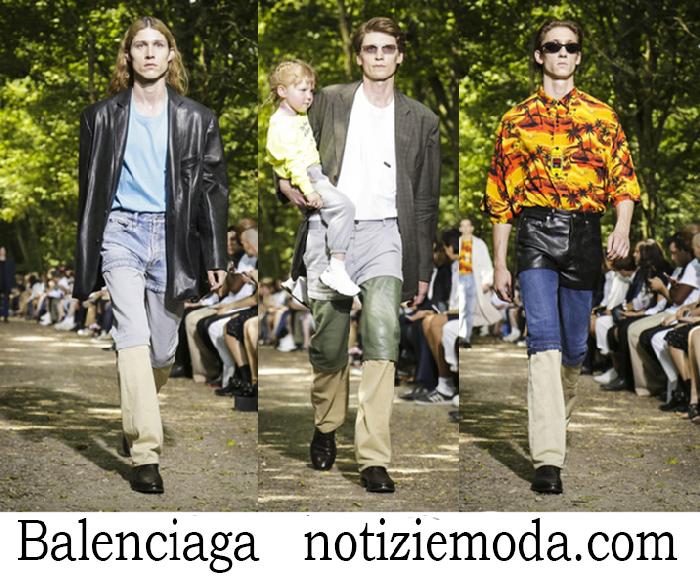 Abbigliamento Balenciaga Primavera Estate Style Uomo
