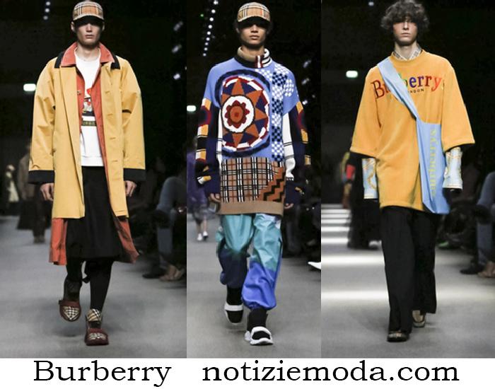 Abbigliamento Burberry Autunno Invernocollezione Uomo