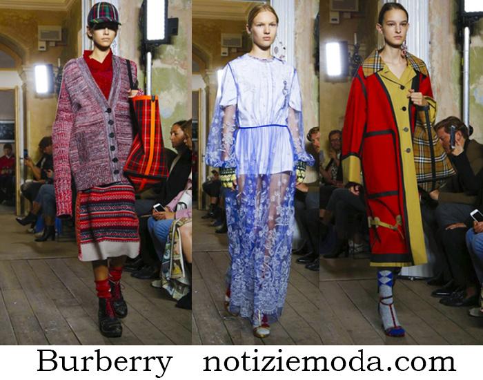 Abbigliamento Burberry Primavera Estate Collezione Donna