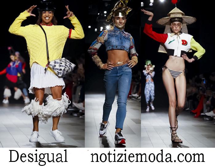 Abbigliamento Desigual Primavera Estate Collezione Donna