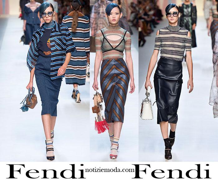 Abbigliamento Fendi Primavera Estate Style Donna