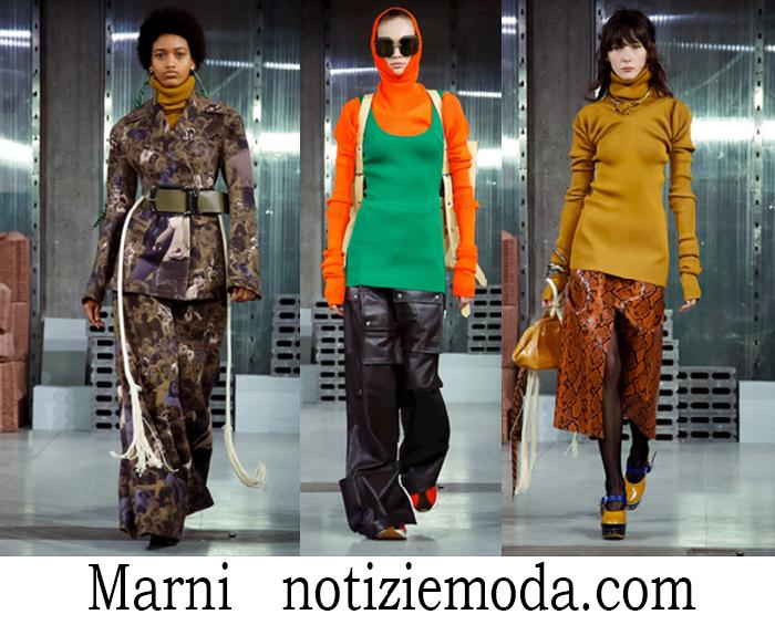 Abbigliamento Marni Autunno Inverno Style Donna
