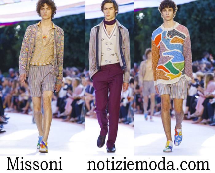 Abbigliamento Missoni Primavera Estate Style Uomo