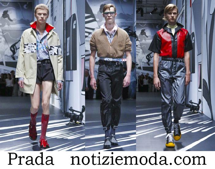 Abbigliamento Prada Primavera Estate Collezione Uomo