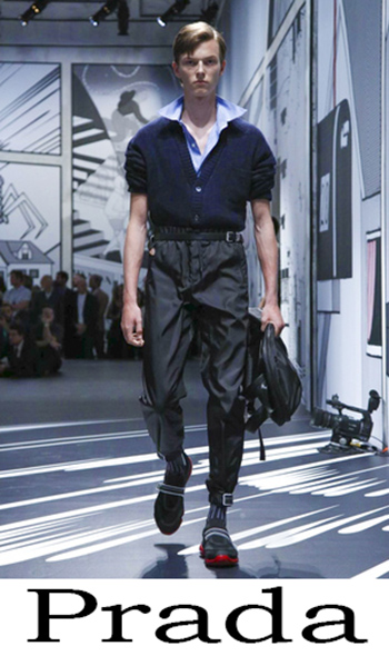 Abbigliamento Prada Uomo Primavera Estate