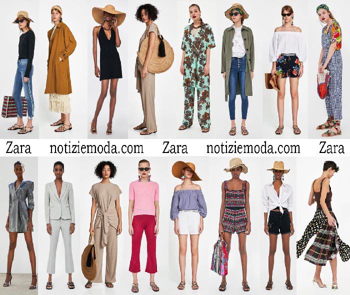 Abbigliamento Zara Primavera Estate Collezione Donna