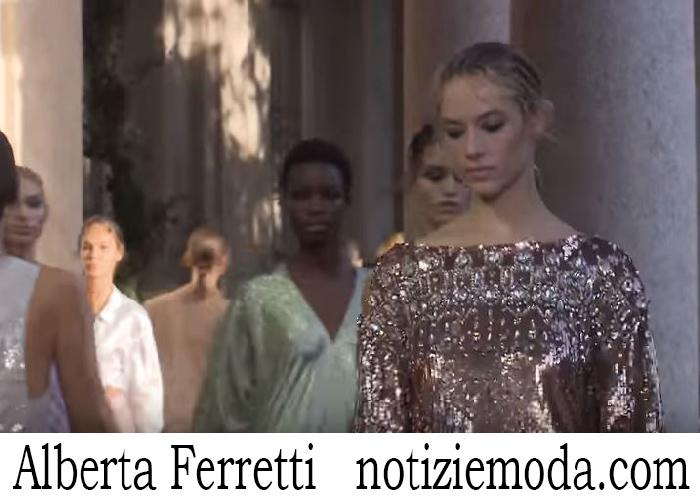 Sfilata Alberta Ferretti Donna Primavera Estate 2018