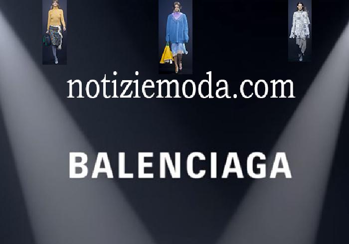 Sfilata Balenciaga Donna Primavera Estate 2018