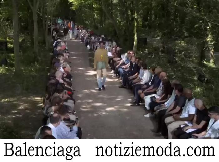 Sfilata Balenciaga Uomo Primavera Estate 2018