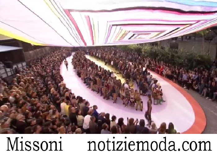 Sfilata Missoni Donna Primavera Estate 2018