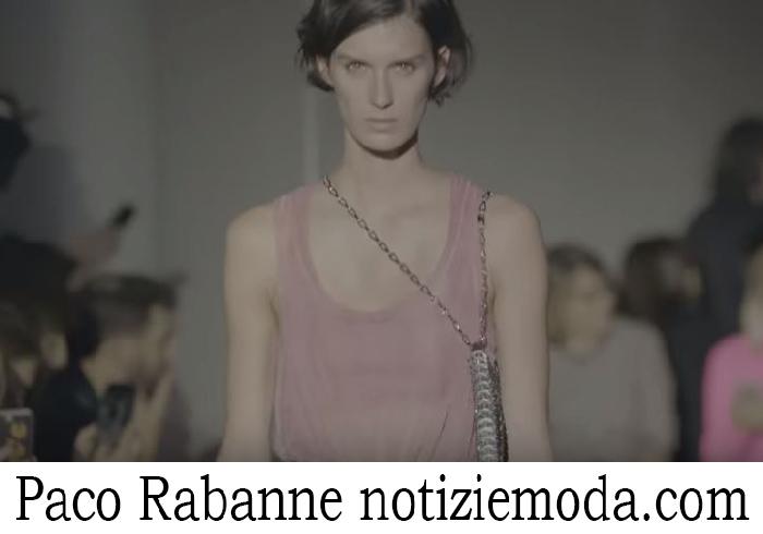 Sfilata Paco Rabanne Donna Primavera Estate 2018