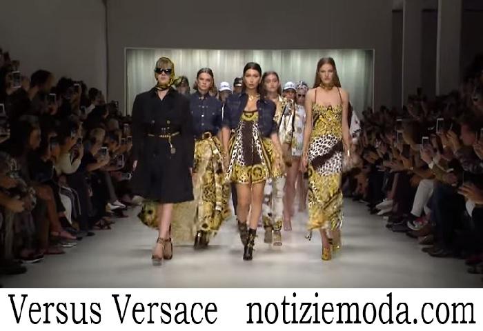 Sfilata Versus Versace Donna Primavera Estate 2018