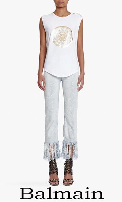 Abbigliamento Balmain Donna T Shirts Primavera Estate