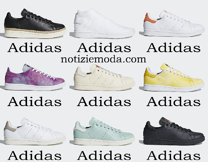 Scarpe Adidas Stan Smith sneakers donna primavera estate
