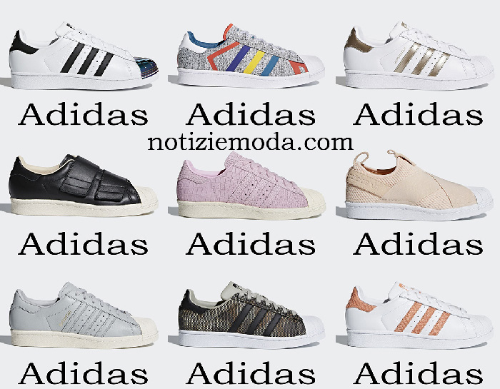 Adidas Superstar 2018 scarpe sneakers donna Originals