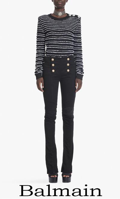 Balmain Primavera Estate 2018 Jeans Donna