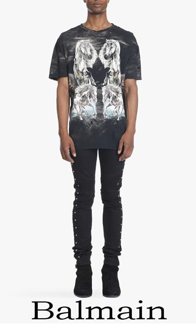 Collezione Balmain Uomo T Shirts Primavera Estate
