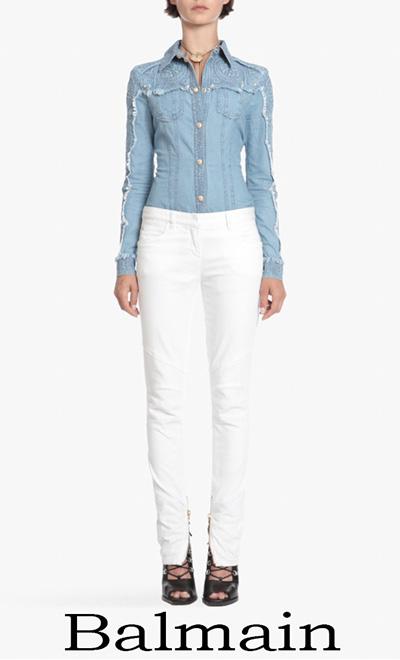 Jeans Balmain 2018 Collezione Balmain Donna