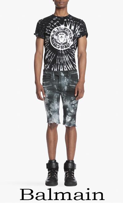 Jeans Balmain 2018 abbigliamento Balmain Uomo