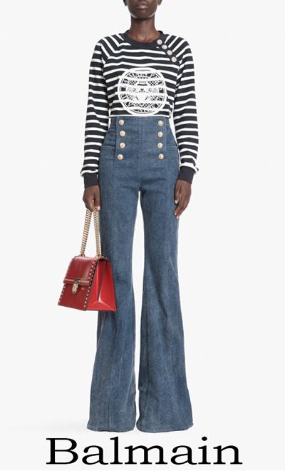 Jeans Balmain 2018 Notizie Moda Balmain Donna