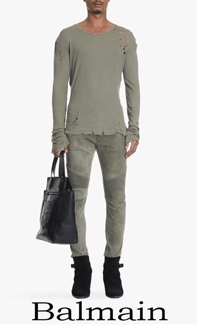 Jeans Balmain 2018 Notizie Moda Balmain Uomo