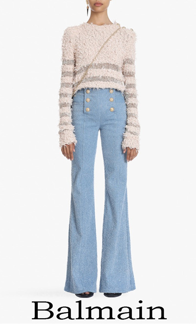 Jeans Balmain 2018 Nuovi Arrivi Moda Donna