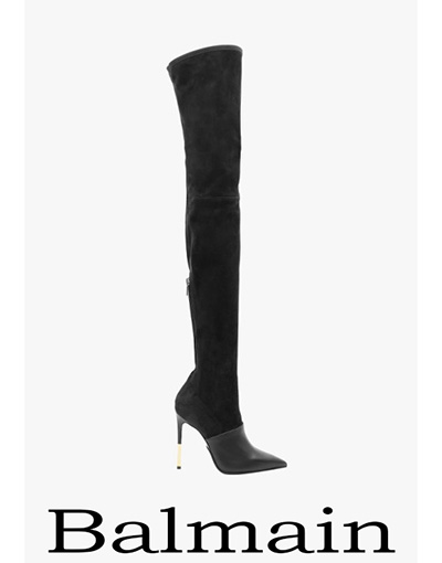 Notizie Moda Balmain Calzature 2018 Moda Donna