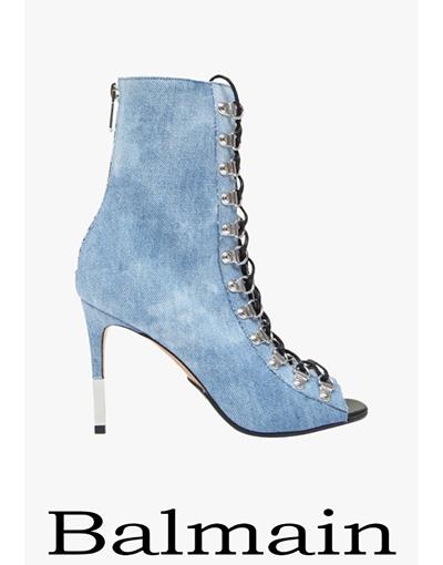 Notizie Moda Balmain Calzature Donna 2018