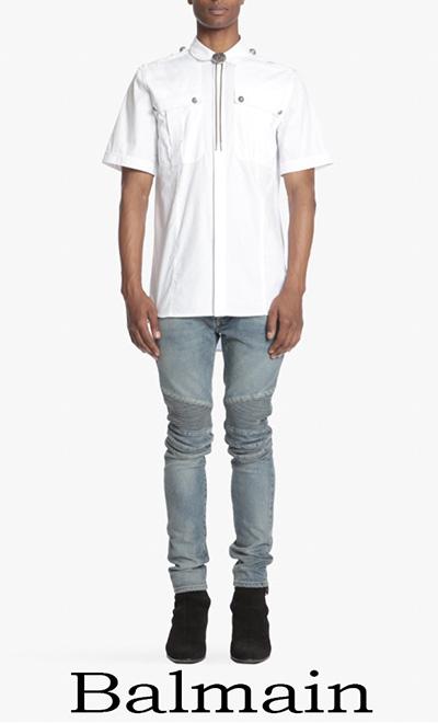 Notizie Moda Balmain Camicie 2018 Moda Uomo