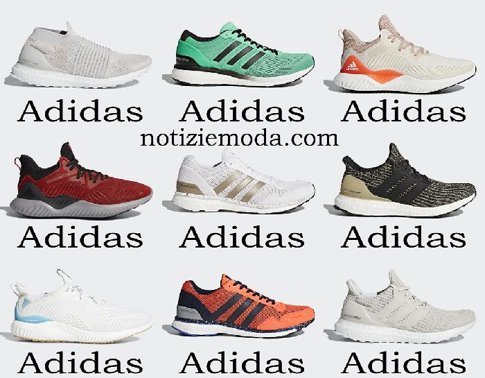 Scarpe Adidas Running Sneakers Uomo Primavera Estate