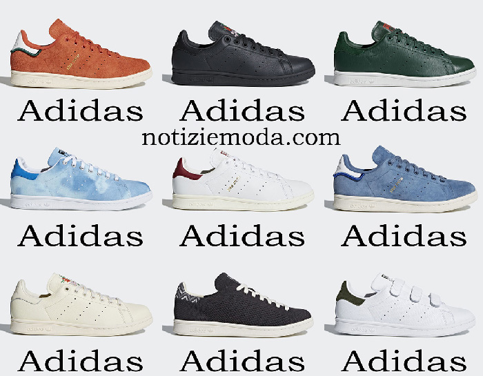 Scarpe Adidas Stan Smith Sneakers Uomo Primavera Estate