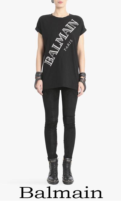 T Shirts Balmain 2018 Notizie Moda Balmain Donna