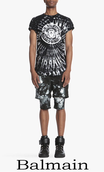 T Shirts Balmain 2018 Notizie Moda Balmain Uomo