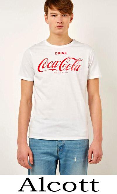 Alcott Primavera Estate 2018 T Shirts Uomo