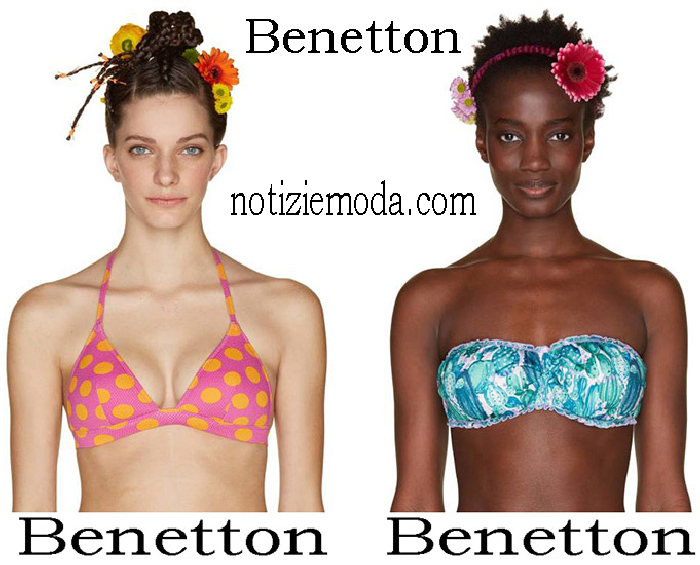 Bikini Benetton Primavera Estate Cortumi Donna