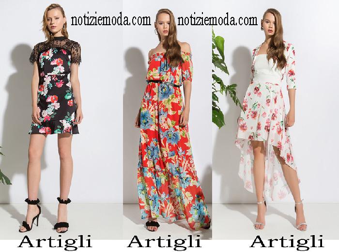 migliore qualità ufficiale grande selezione del 2019 Abbigliamento Artigli 2018 collezione primavera estate donna