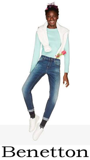 Collezione Benetton Donna Jeans 2018 1