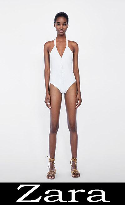 Collezione Zara Donna Costumi Interi 2018 5