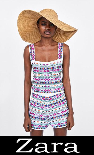 Collezione Zara Donna Moda Mare 2018 11