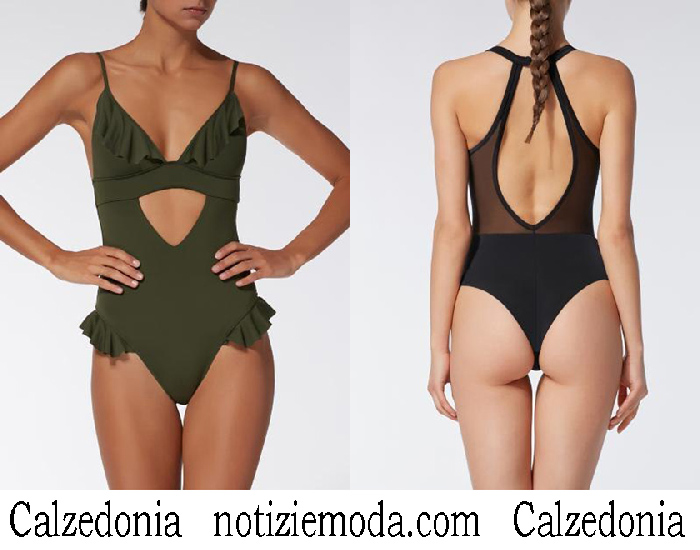 Costumi Interi Calzedonia Primavera Estate 2018