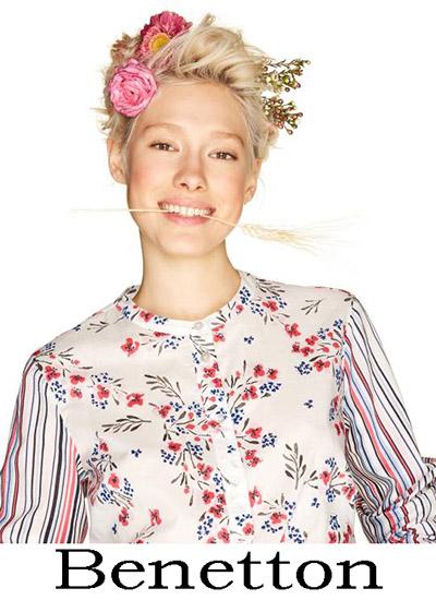 disponibilità nel Regno Unito 6095a f2ce9 Camicie Benetton 2018 nuovi arrivi bluse moda donna