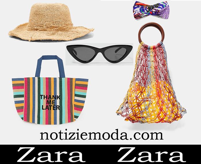Nuovi Arrivi Accessori Mare Zara 2018 Beachwear