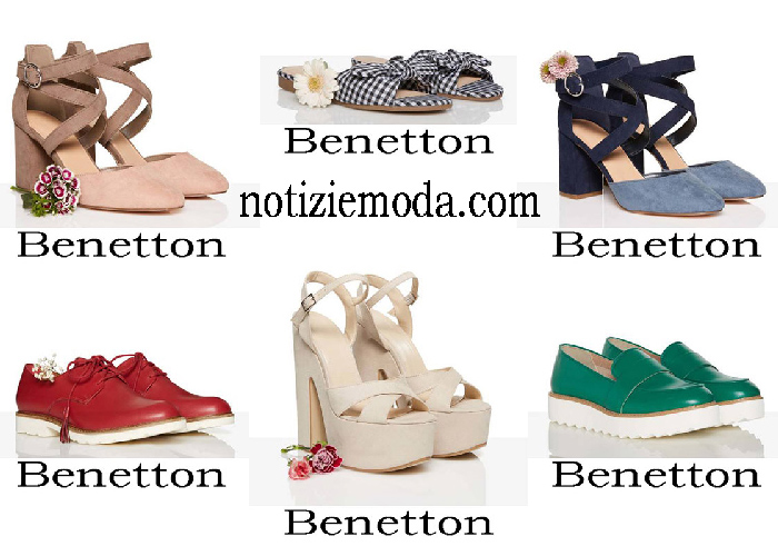 Scarpe Benetton Primavera Estate Calzature Donna