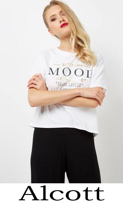T Shirts Alcott 2018 Nuovi Arrivi Moda Donna
