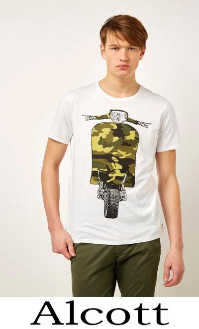 T Shirts Alcott 2018 Nuovi Arrivi Moda Uomo