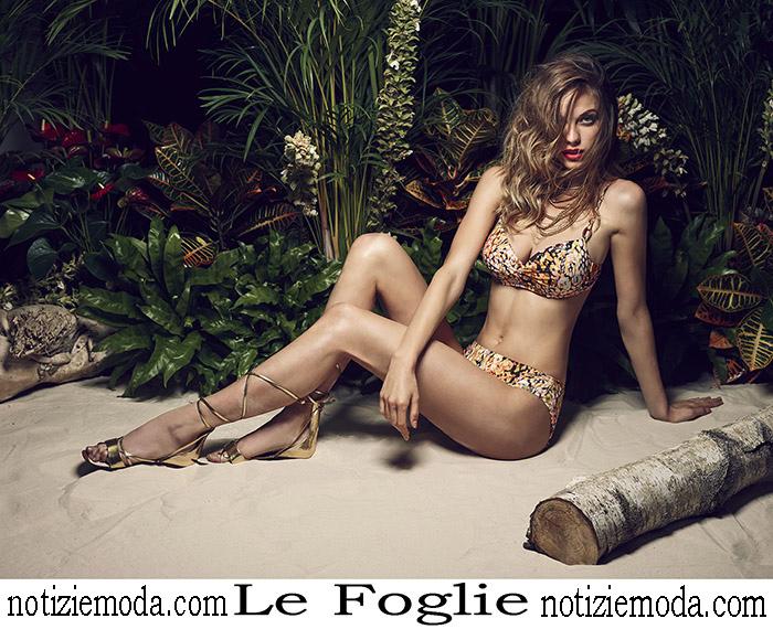 Nuovi Arrivi Bikini Le Foglie 2018 Costumi Da Bagno