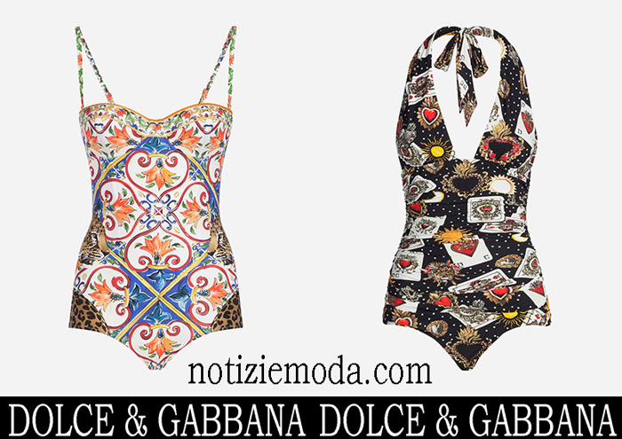Nuovi Arrivi Costumi Interi Dolce Gabbana 2018 Costumi Da Bagno
