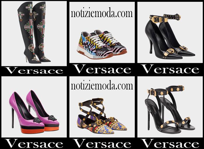 Nuovi Arrivi Scarpe Versace 2018 Calzature Donna