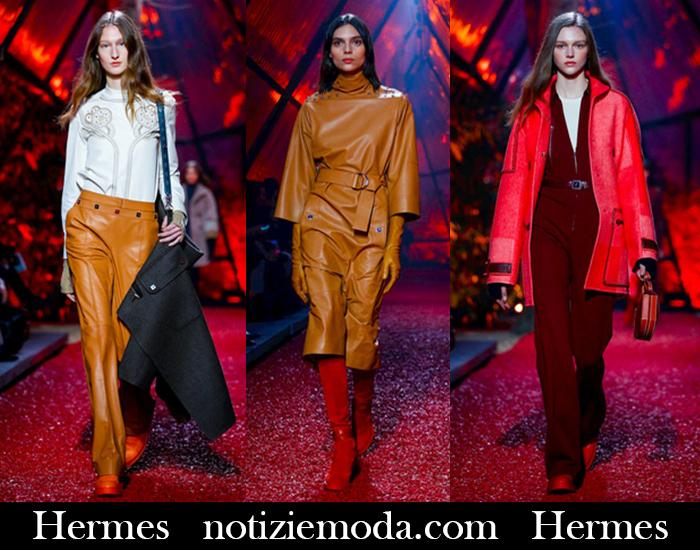 Abiti Da Sera Hermes.Abbigliamento Hermes Autunno Inverno 2018 2019 Nuovi Arrivi
